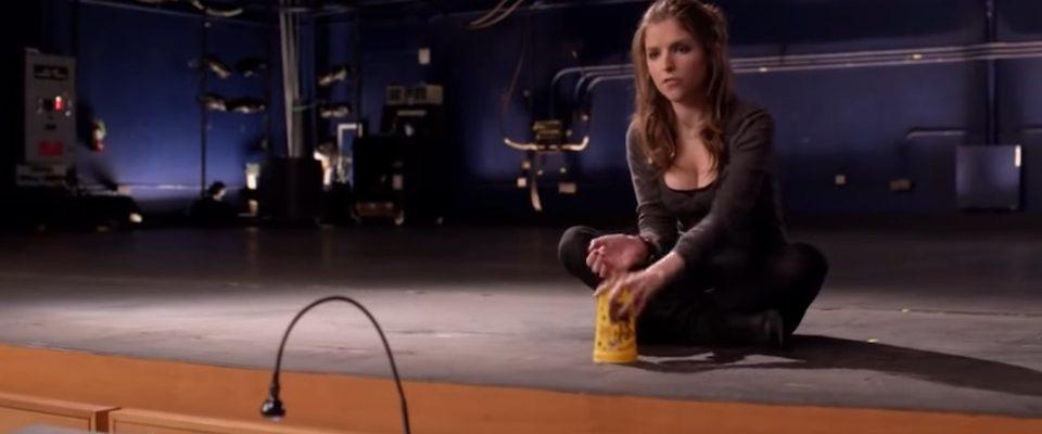 Audition de Anna dans le film à la cup song