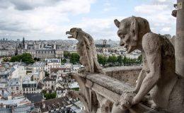 Gargouilles de Notre de Dame de Paris à refaire en impression 3D
